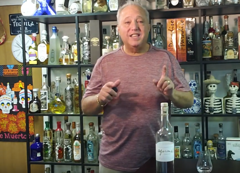 Lou Agave of Long Island Lou Tequila - Aguamiel Tequila