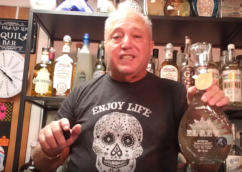 Lou Agave of Long Island Lou Tequila - El Rey Tequila Is Fit For A King.