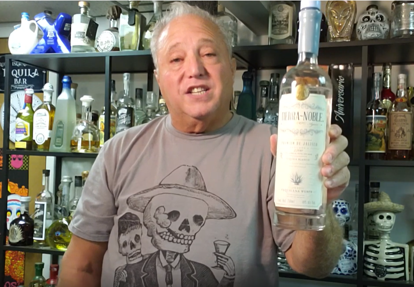Lou Agave of Long Island Lou Tequila - Tierre Noble Blanco... Solid Enough.