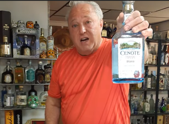 Lou Agave of Long Island Lou Tequila - Cenote Tequila - It's tasty and worthy of a try
