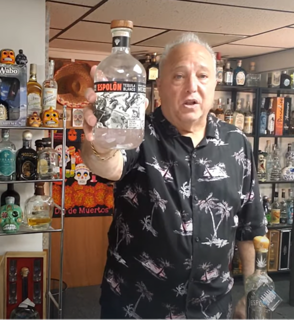Lou Agave of Long Island Lou Tequila - Espolon Blanco Tequila- Decent for the price