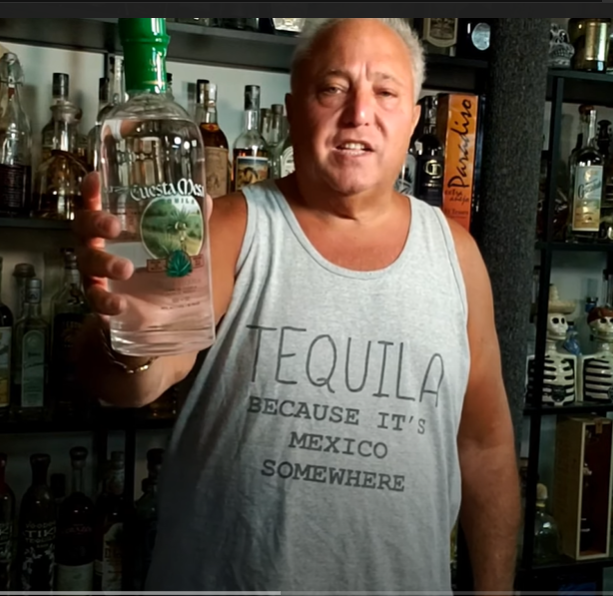Lou Agave of Long Island Lou Tequila - Cuesta Mesa- Crap in a bottle