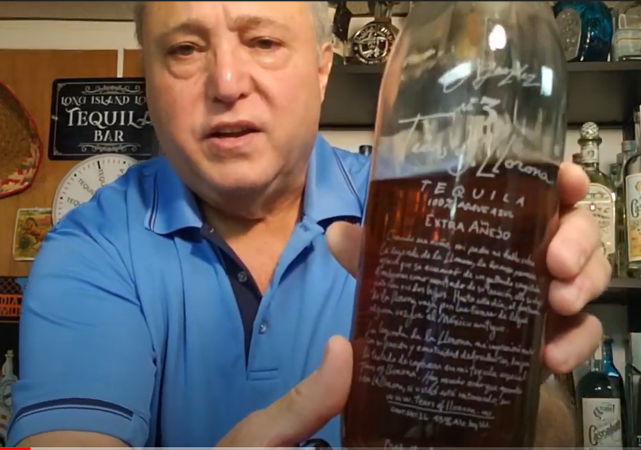 Lou Agave of Long Island Lou Tequila- Tears of Llorona Extra Anejo - Layers of Fun