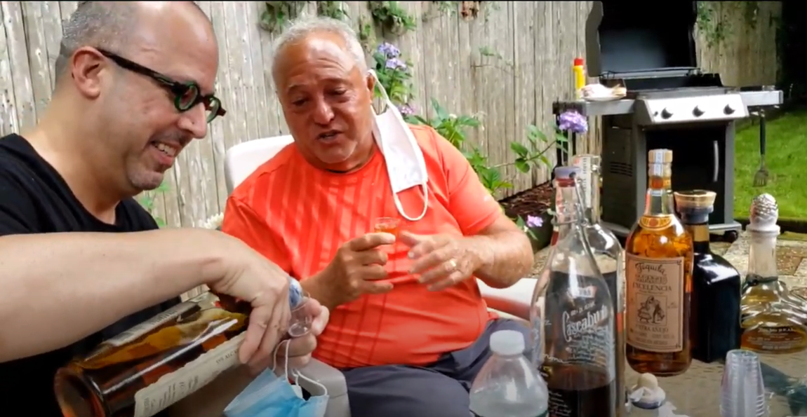 Lou Agave of Long Island Lou Tequila - 'Sippin With Lou' - Some Great XA Tasting with the Doctor