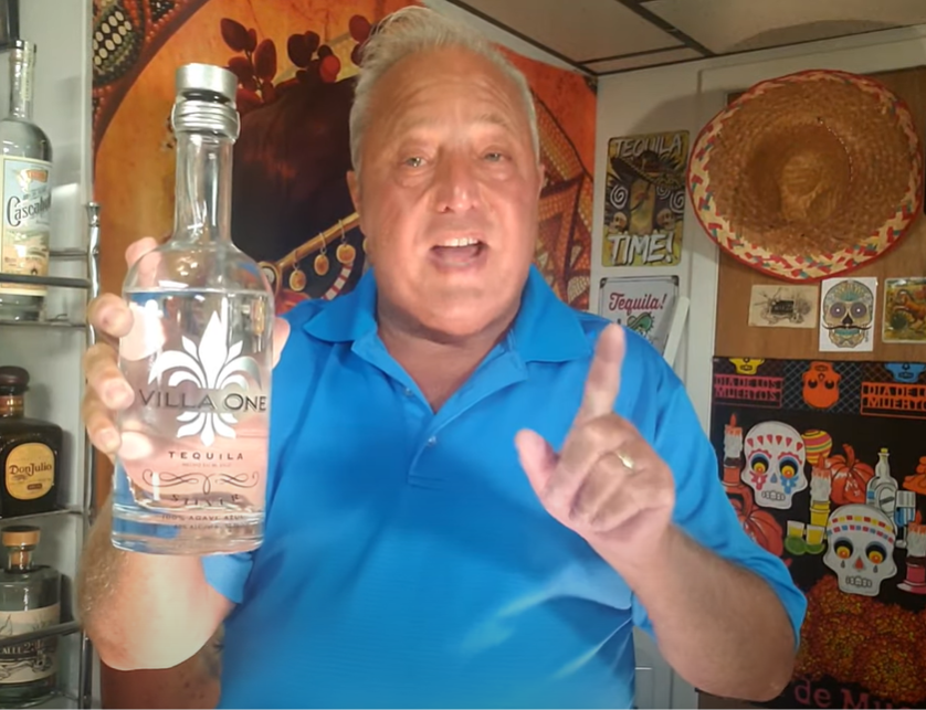 Lou Agave of Long Island Lou Tequila - Villa One blanco - Nice For The Price