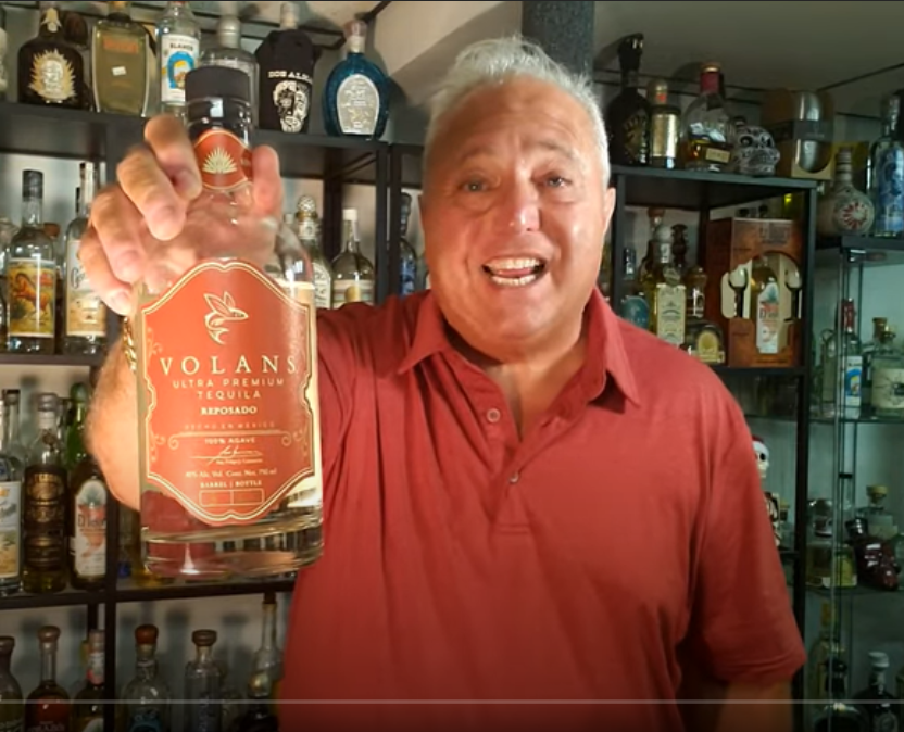 Lou Agave of Long Island Lou Tequila - Volans Single Barrel Reposado- WOW!! ..You need to find some.
