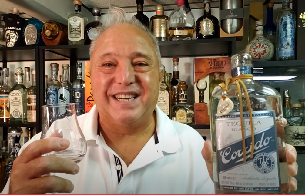 Lou Agave of Long Island Lou Tequila- 'Sippin' With Lou' - Corrido Blanco (NOM 1526) - Unicorn Tears