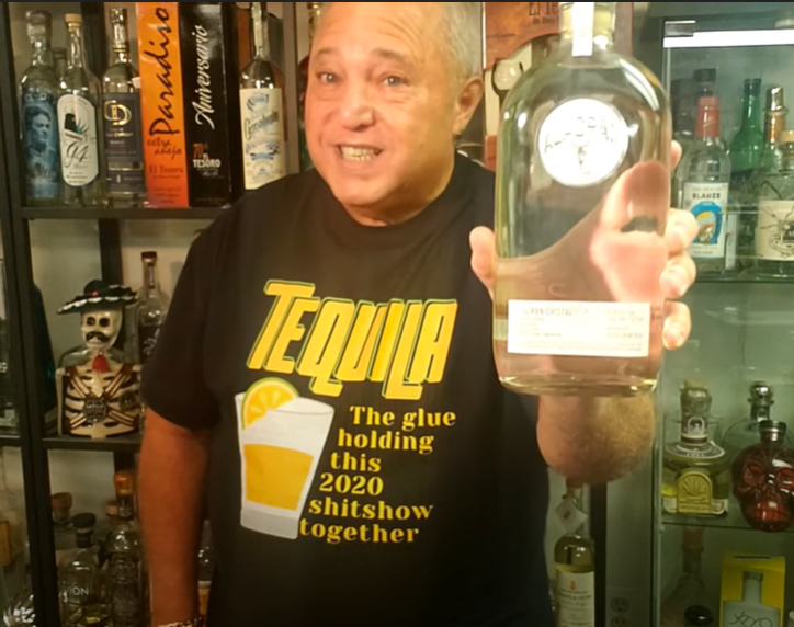 Lou Agave of Long Island Lou Tequila - Alacrán Anejo Cristalino - If you see it.... Run Away