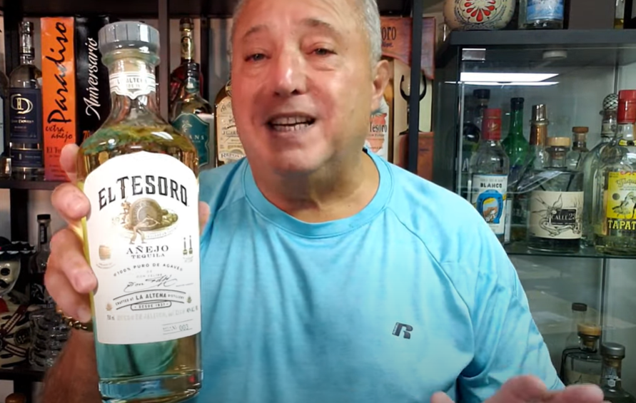 Lou Agave of Long Island Lou Tequila- El Tesoro Anejo- Light, Tasty & Clean...What More Can You Say?