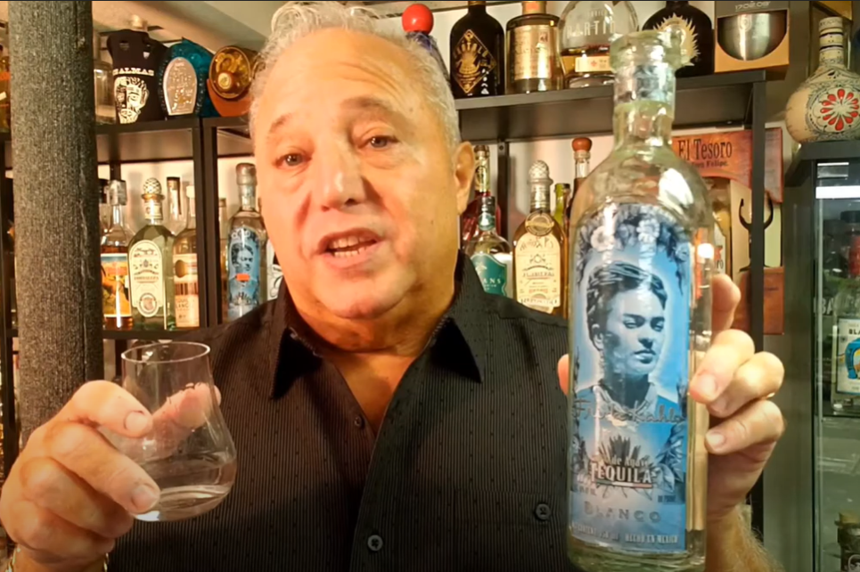 Lou Agave of Long Island Lou Tequila - 'You Can't Take It With You' - Frida Kahlo - A NOM 1079 Gem