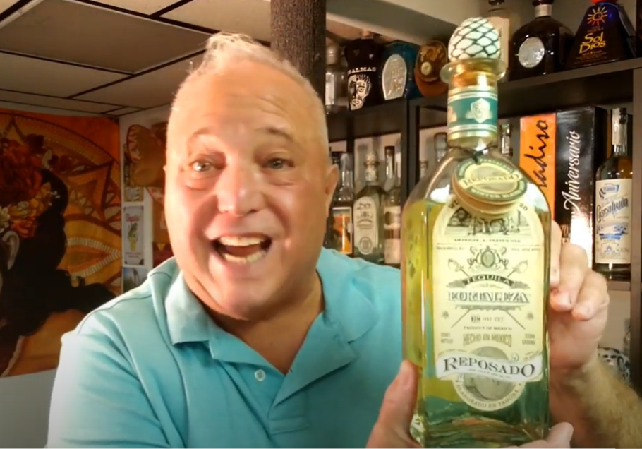 Lou Agave of Long Island Lou Tequila - Fortaleza Winter blend Reposado 2020... It's The Bomb