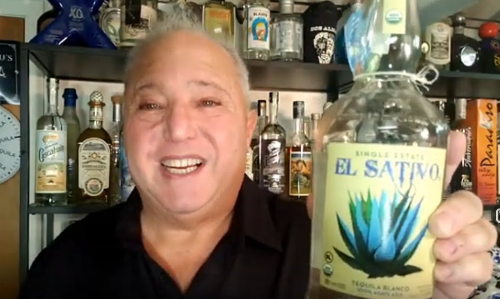 Lou Agave of Long Island Lou Tequila - El Sativo Blanco - Nice Sippin'... You Can't Go Wrong