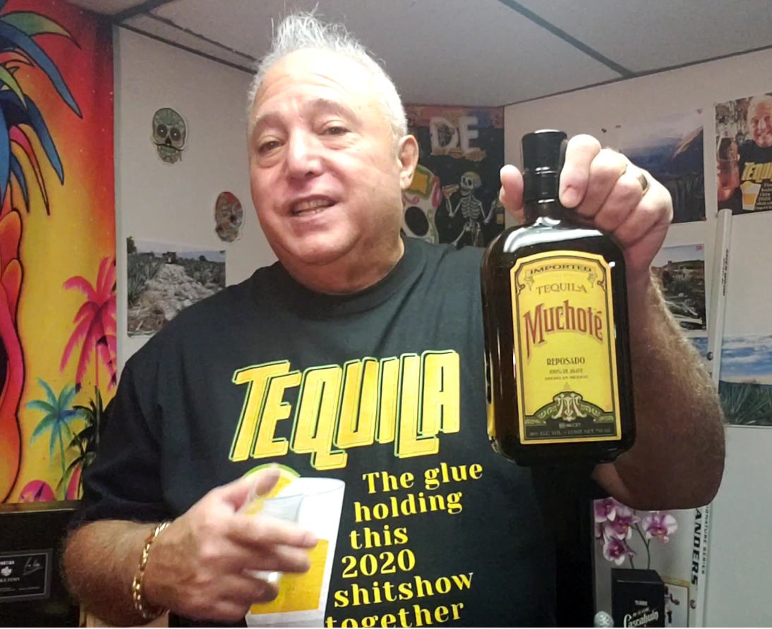 Lou Agave of Long Island Lou Tequila -'You Can't Take It With You'- Muchote Repo- An Old Time Favorite