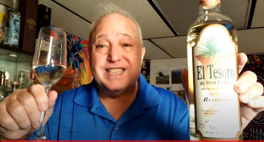 Lou Agave of Long Island Lou Tequila - 'You Cant Take It With You'- ETWL Repo-Maybe The Best Tequila Ever