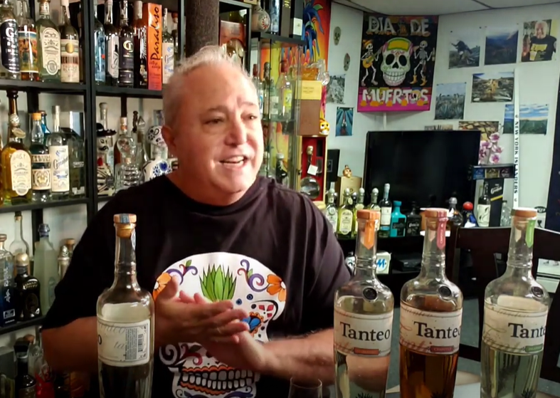 Lou Agave of Long Island Lou Tequila - 'Sippin With Lou'- Tanteo Blanco & Infused Tequila - Hot Stuff