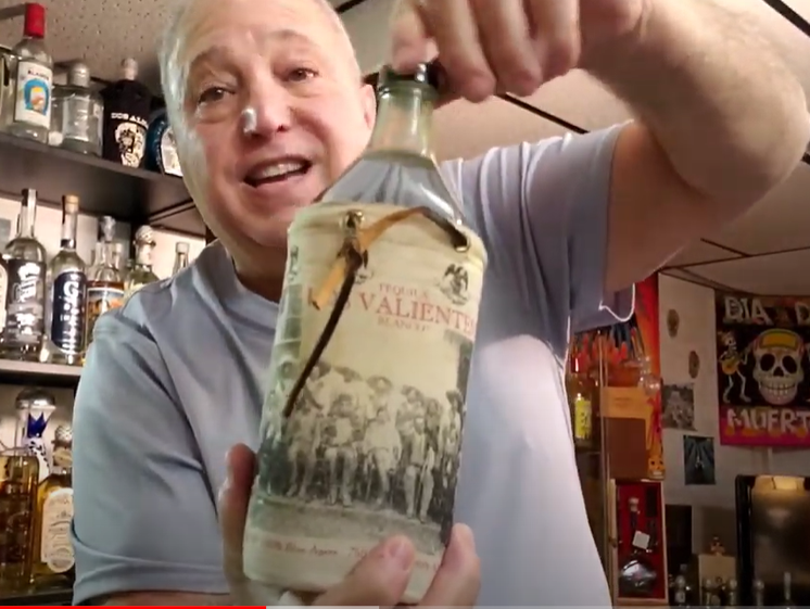 Lou Agave of Long Island Lou Tequila - 'You Can't Take It With You' - Los Valientes Blanco - NOM 740