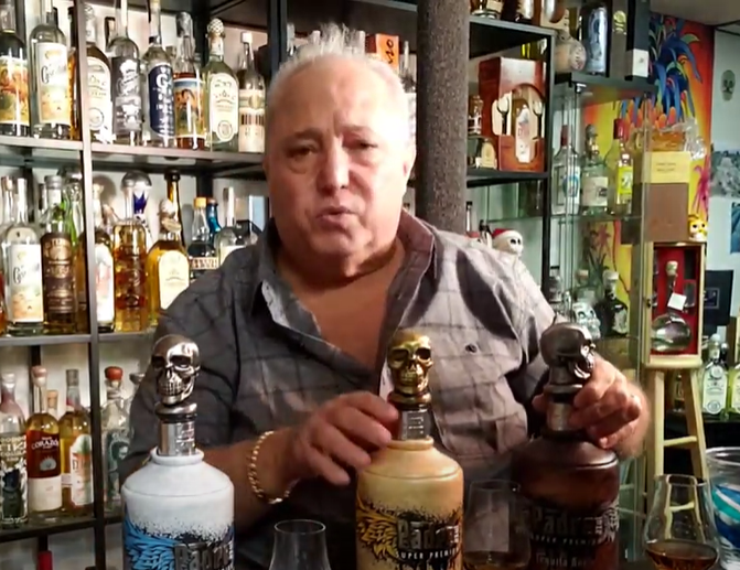 Lou Agave of Long Island Lou Tequila - Padre Azul - The Bottle Is Neat.... But You Better Like Sweet