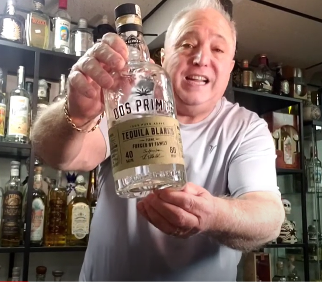 Lou Agave of Long Island Lou Tequila -'Tequila in 90 Seconds or Less'- Dos Primos Blanco - A Great Mixer