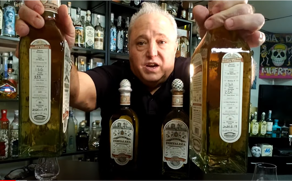 Lou Agave of Long Island Lou Tequila - 'You Can't Take It With You' - It's Here - Fortaleza SB Old Town Reposado