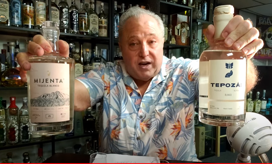 Lou Agave of Long Island Lou Tequila - Lou's Blind Test - Is it Mijenta or Tepozan Blanco...Who Wins?