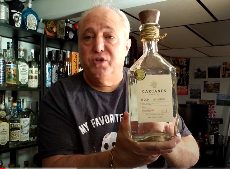 Lou Agave of Long Island Lou Tequila - Cazcanes #9 Blanco - Hot Deliciousness, A Top 10 Best High Proof