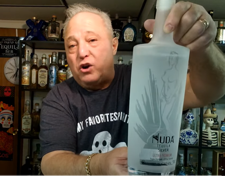 Lou Agave of Long Island Lou Tequila - Nuda Blanco Tequila - The Naked Truth is... It's Barely Ok